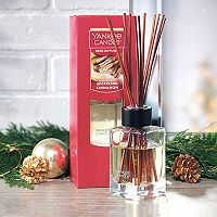 Yankee Candle Sparkling Cinnamon Reed Diffuser Set