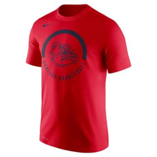 Men's Nike Gonzaga Bulldogs Basketball Tee