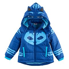 Toddler Boy PJ Masks Catboy Fleece-Lined Hooded Heavyweight Jacket