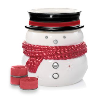 Yankee Candle Snowman Luminary Tealight Candle Holder 5-piece Set