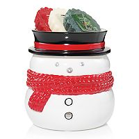 Yankee Candle Snowman Tart Wax Melt Warmer 4-piece Set