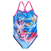 Girls 4-6x My Little Pony 'Believe In Dreams' One Piece Swimsuit