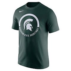 Men's Nike Michigan State Spartans Basketball Tee