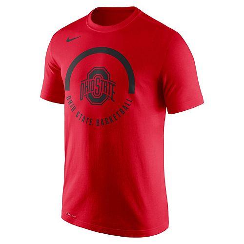 Men's Nike Ohio State Buckeyes Basketball Tee
