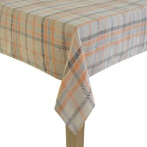Celebrate Halloween Together Plaid Tablecloth
