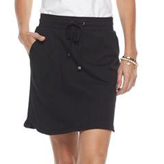 Women's Croft & Barrow® Solid Knit Skort