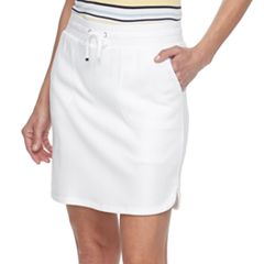Women's Croft & Barrow® Solid Knit Skort