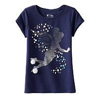 Disney's Peter Pan Girls 4-7 Tinkerbell Sequin Tee by Jumping Beans®