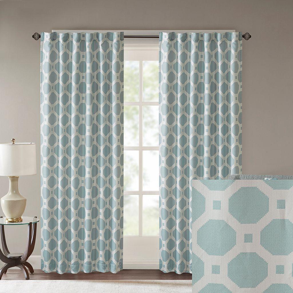 Madison Park Oriana Jacquard Window Curtain