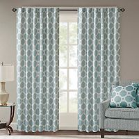Madison Park Oriana Jacquard Window Curtain