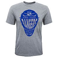 Boys 8-20 New York Rangers Helmet Goals Tee