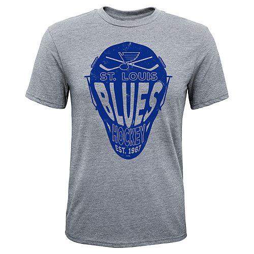 Boys 8-20 St. Louis Blues Helmet Goals Tee