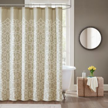 Madison Park Beatrice Shower Curtain