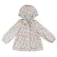 Toddler Girl Carter's Floral Midweight Fleece-Lined Jacket