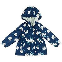 Toddler Girl Carter's Floral Midweight Fleece-Lined Jacket