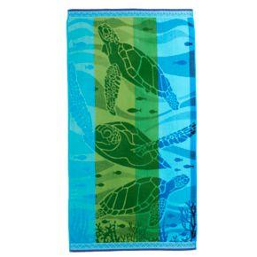 Celebrate Summer Together Turtle Beach Towel