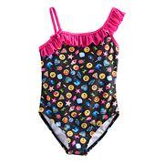 Girls 4-6x Emoli One Piece Swimsuit