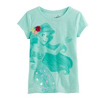 Disney's The Little Mermaid Toddler Girl Ariel Slubbed Tee by Jumping Beans®