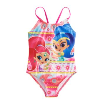Girls 4-6x Shimmer & Shine One Piece Swimsuit