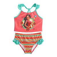 Disney's Elena of Avalor Girls 4-6x 2-pc. Tankini & Scoop Bottoms Swimsuit Set