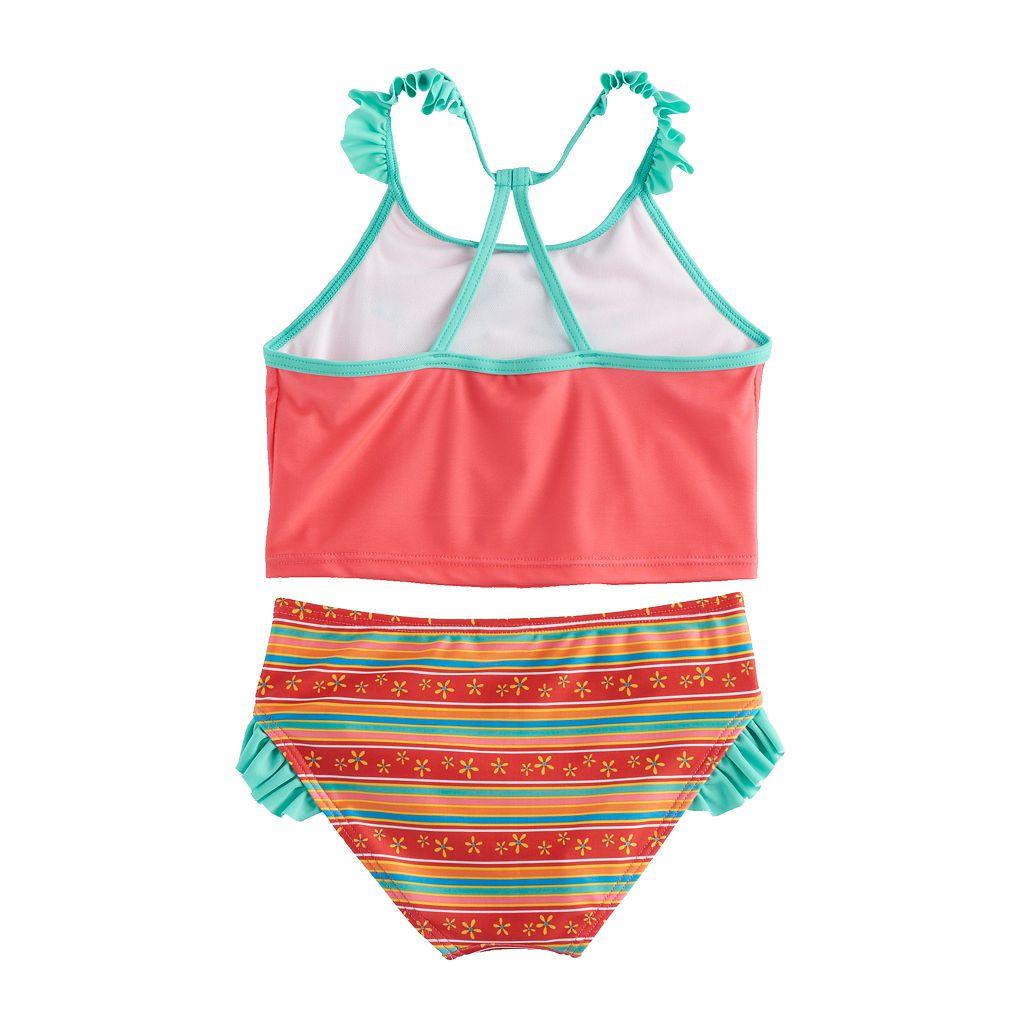 Disney's Elena of Avalor Girls 4-6x 2-pc. Tankini & Scoop Bottoms Swimsuit Set