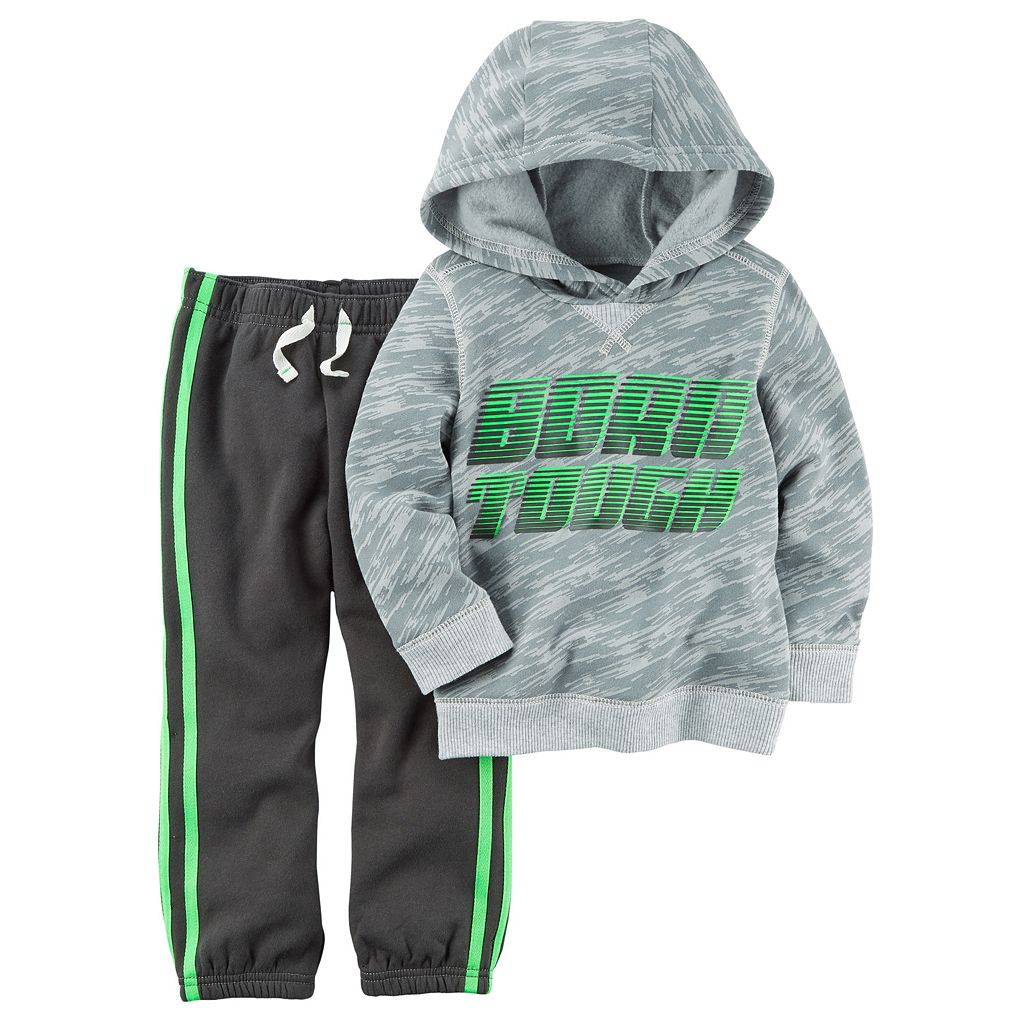 Toddler Boy Carter's Hoodie & Pants Set
