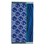 Celebrate Summer Together Blue Fish Beach Towel