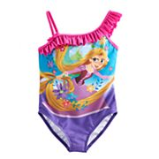 Disney's Rapunzel Girls 4-6x One Piece Swimsuit