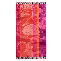 Celebrate Summer Together Flamingo Beach Towel