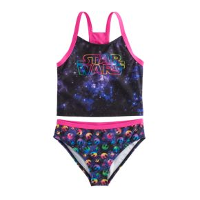 Girls 4-6x Star Wars 2-pc. Tankini & Scoop Bottoms Swimsuit Set