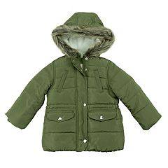 Toddler Girl Carter's Heavyweight Puffer Jacket