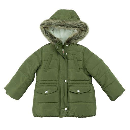 Toddler Girl OshKosh B'gosh® Heavyweight Puffer Jacket