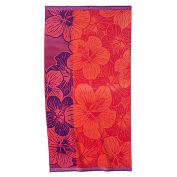 Celebrate Summer Together Hibiscus Beach Towel