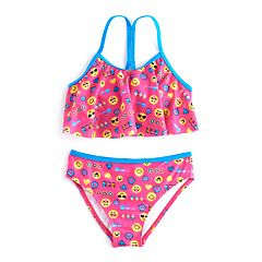 Girls 4-6x Emoji 2 pc Bikini Swimsuit Set