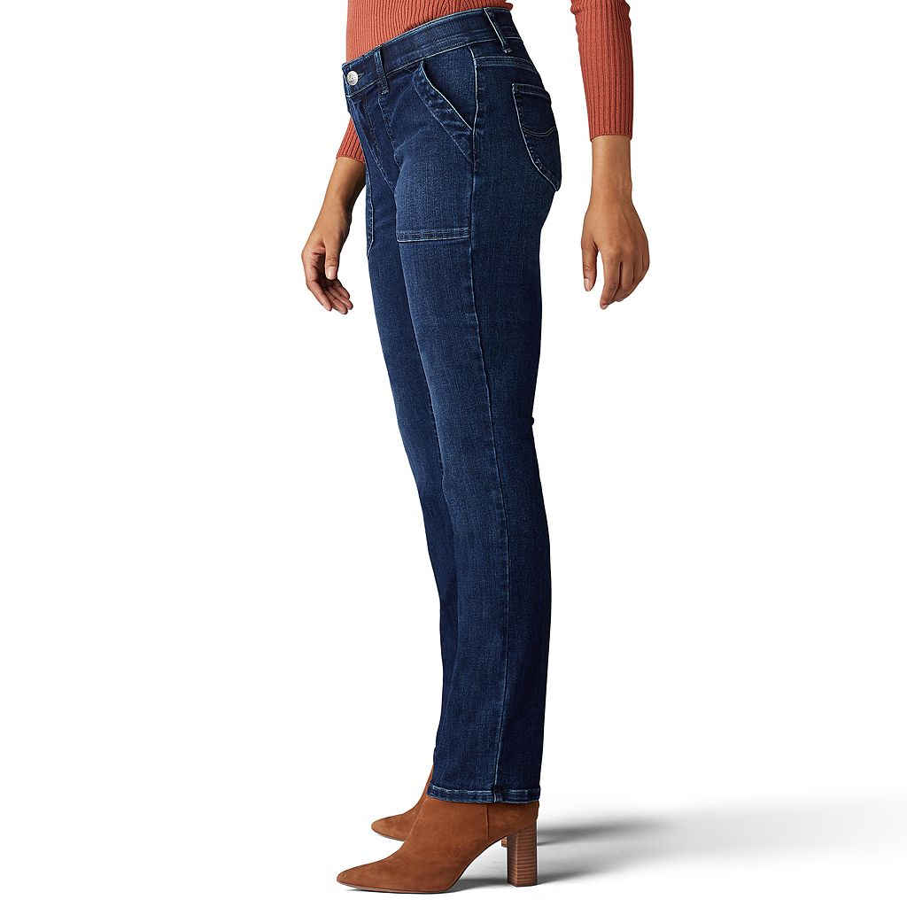 Women's Lee Total Freedom Straight-Leg Jeans