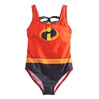 Disney / Pixar The Incredibles Laced Back One-Piece Swimsuit