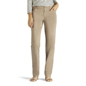 Women's Lee Straight-Leg Tailored Chino Pants
