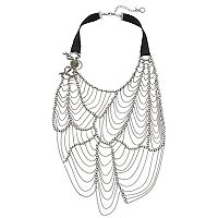 Simply Vera Vera Wang 10th Anniversary Web Swag Necklace