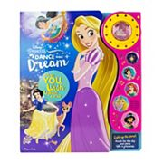 Disney Princess Dancing Light Deluxe Book by PI Kids
