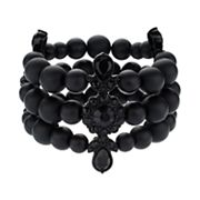 Simply Vera Vera Wang 10th Anniversary Beaded Multi Strand Stretch Bracelet