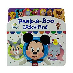 Pi kids kohls disney baby lift a flap look and find book by pi kids altavistaventures Images