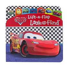 Pi kids kohls disney pixar cars 3 lift a flap look and find book by pi altavistaventures Images