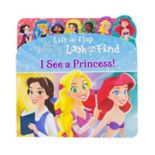 Disney Princess Lift-A-Flap And Find Book by PI Kids