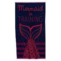 Celebrate Summer Together Mermaid Beach Towel