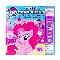 My Little Pony Voice Changing Microphone Book by PI Kids