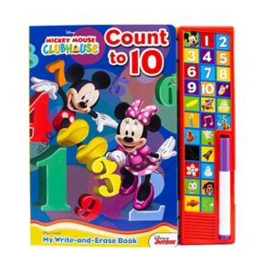 Disney's Mickey Mouse Write And Erase Soundbook by PI Kids