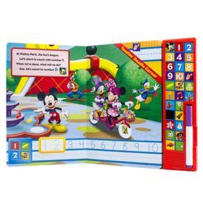 Disney's Mickey Mouse Write And Erase Soundbook by PI Kids