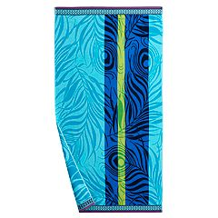 Celebrate Summer Together Peacock Beach Towel
