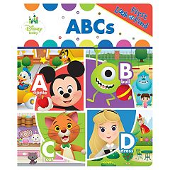 Disney Baby First Look And Find ABC'S Book by PI Kids