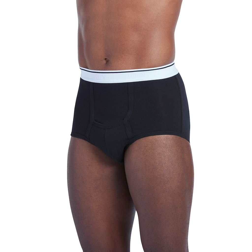 Big & Tall Jockey Pouch Stretch H-Fly Full-Rise Briefs